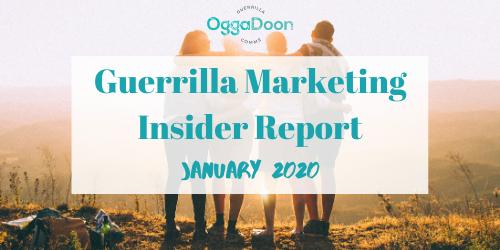 January 2020 GMIR - guerrilla marketing insider report