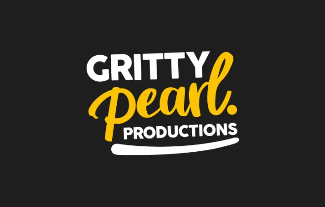 The logo for production agency Gritty Pearl Productions