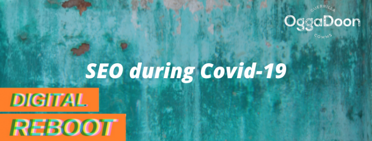 a banner image for understanding seo during covid19
