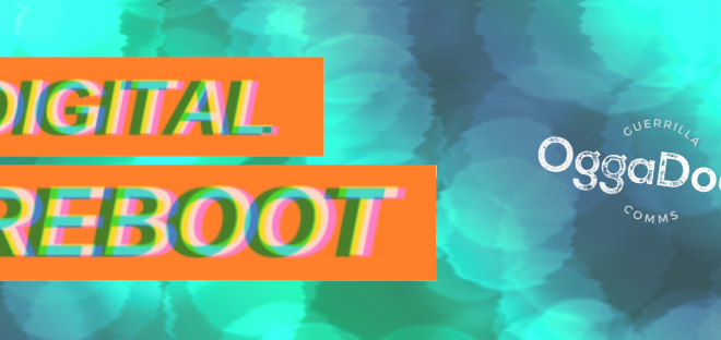 A header image for a digital reboot campaign