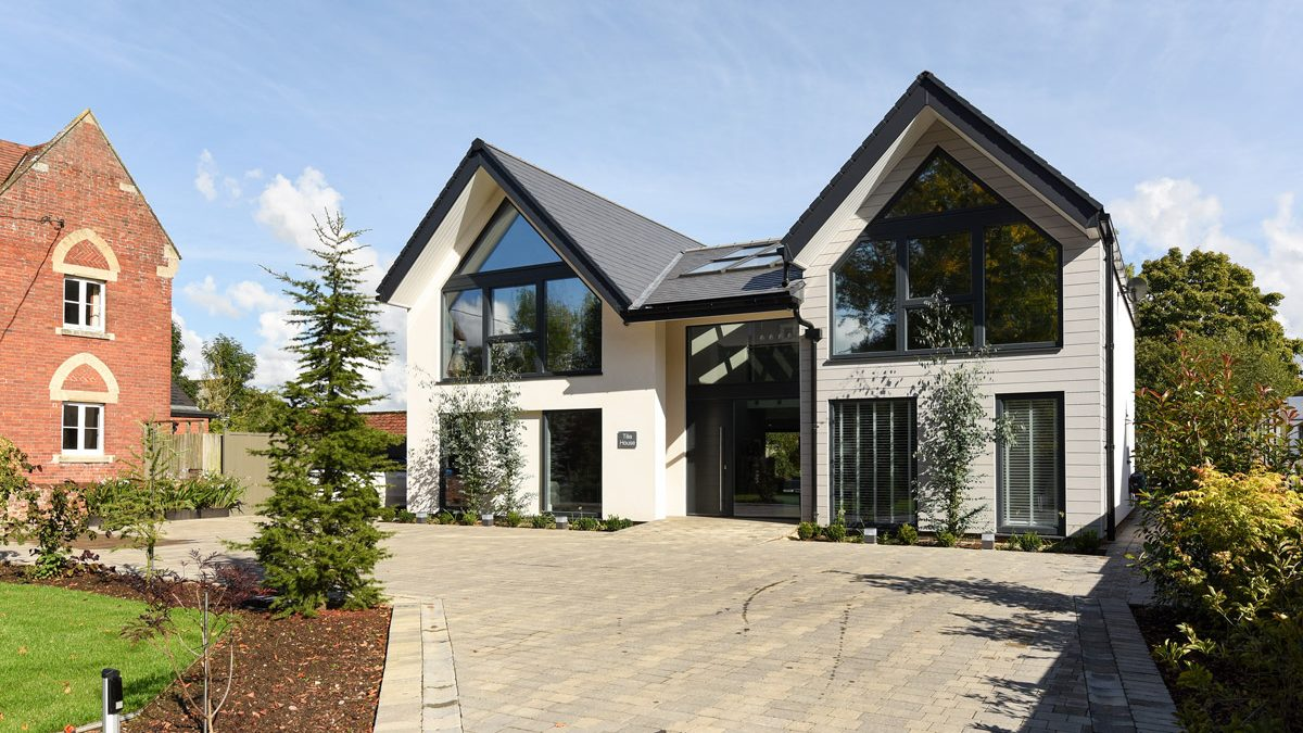 a photo of a Tim Pullen eco home