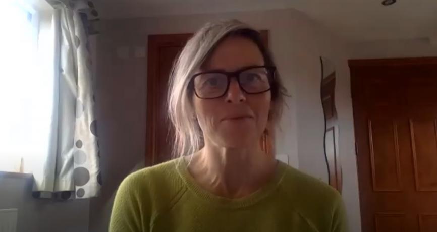 OggaDoon's founder, Caroline speaking about PR effectiveness